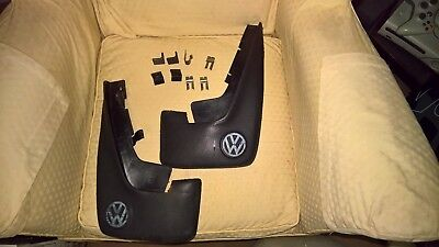 Votex Golf Mk2 Gti Big Bumper Rear Mud Flaps 191075102. Fixing clips are needed