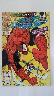 The Amazing Spider-Man #345, 363, Annual 28 (Mar 1991, Marvel) Carnage Lot