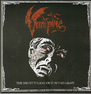 VAMPIRE/ MIASMAL - The Night came out of the grave/ Queen of Poisoned...  PIC7''