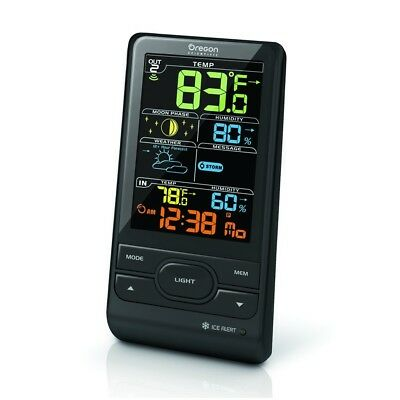 oregon scientific BAR208S colour LCD advance weather Station