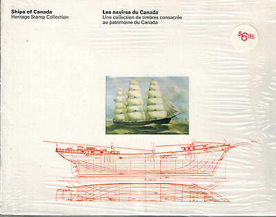 Canada (1978, Ships Of Canada, Thematic Collection-13. Sealed)  Mnh Cv = C$17.50