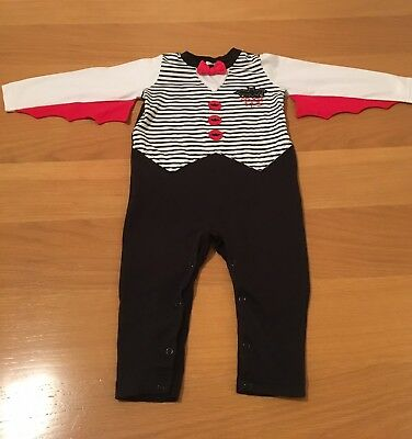 Halloween Vampire Costume/outfit, Baby boy 12-18 Months. Great Condition