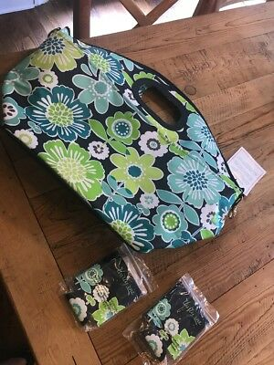 thirty one rolling cooler Tote Thermal Lining Koozies New