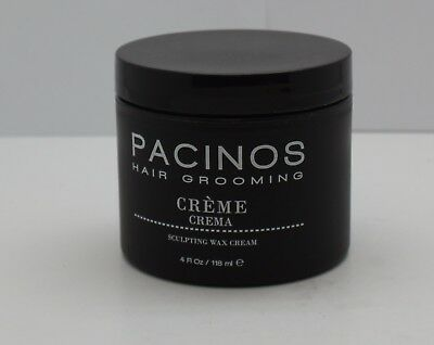 Pacinos Hair Grooming Sculpting Wax Cream Creme 4 oz