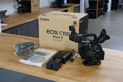 Canon C100 Mark ii Body with Extra Battery