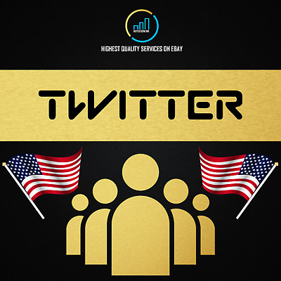 200 USA Twitter-Followers 200-Likes or 200 RTs - buyseoonline