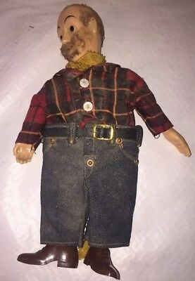 Vintage Buddy Lee Jeans Outfit on a Hazelle's Popular Marionettes Doll
