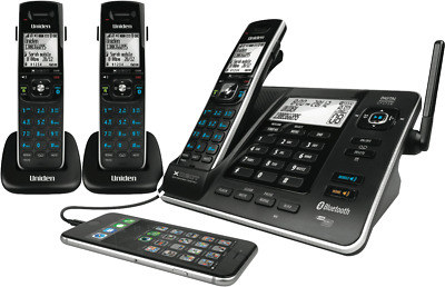 NEW Uniden XDECT8355+2 Cordless Phone Triple Pack