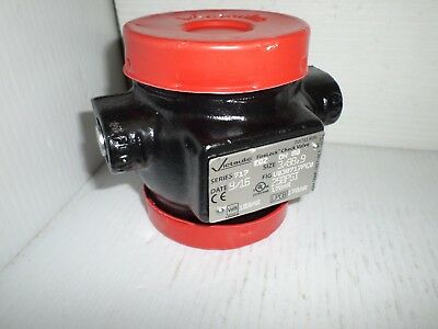 New  Victaulic 717 3/88.9 Dn80 Firelock Grooved Check Valve Fm V030717Pe0