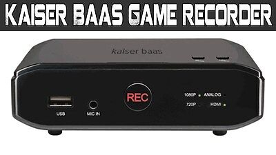 Kaiser Baas Full Hd 1080P Game Recorder Play Capture Share