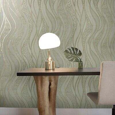 Wallpaper brown Gold metallic wall coverings textured damask wall coverings roll