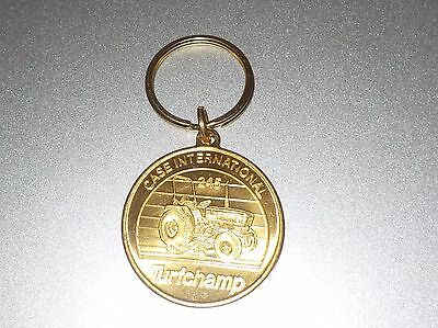 Case International 245 Turf Champ Tractor Key Chain Vintage Never Used