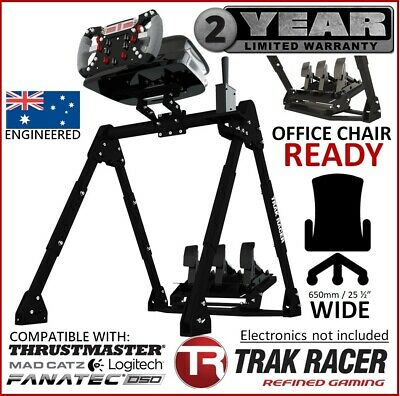 ^Trak Racer FS3 Racing Simulator Steering Wheel Stand for G27 PS4 T300 458TX T80