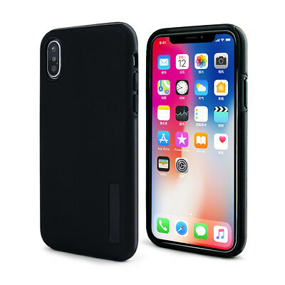 Dual Layer Shock proof TPU Hard Hybrid Protective Case Cover For Apple iPhone X