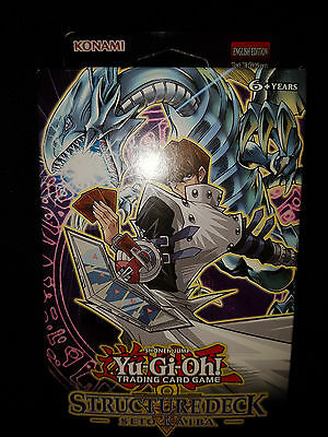 Yugioh Seto Kaiba Structure Deck |BRAND NEW SEALED Yu-Gi-Oh! TCG