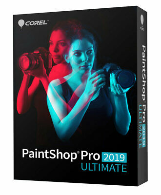 Corel PaintShop Pro Ultimate 2019 Win 1PC License GST Inv.