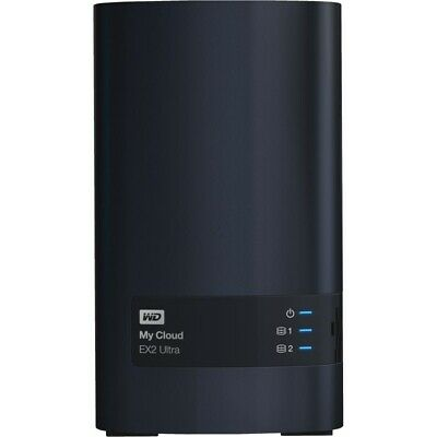 Western Digital My Cloud EX2 Ultra 8TB Speicher Anthrazit externe Festplatte