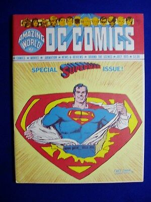 Amazing World of DC Comics 7. Special Superman Issue..  VFN+