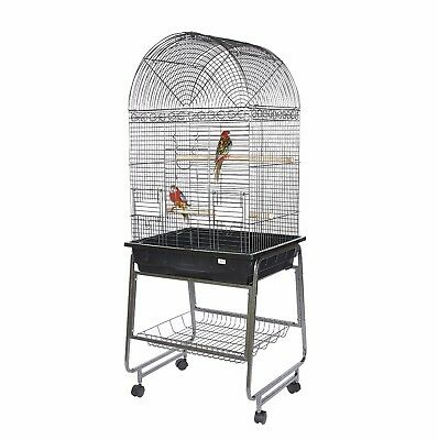 Kookaburra Cork Parrot Cage with stand - Small/Med Parrots