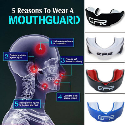 Quality Gum Shield Mouth Guard Teeth Protector Boxing MMA Rugby For Adult UK