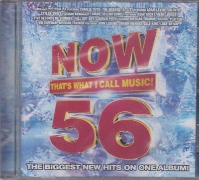 Now That's What I Call Music! 56 by Various Artists (CD, Oct-2015, Capitol)