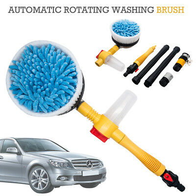 Elecrelive Car Rotating Pressure Washer Cleaning Tool Vehicle Washing Brush Acce