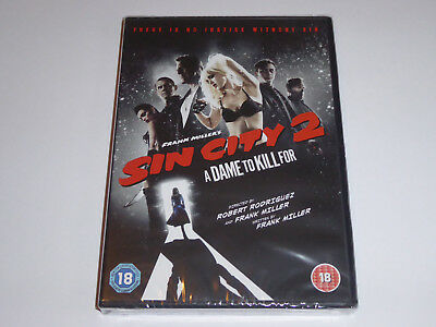 Sin City 2: A Dame To Kill For - NEW / SEALED GENUINE UK (Region 2) DVD