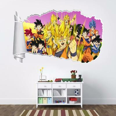 Mickey Mouse /& Friends 3D Torn Hole Ripped Wall Sticker Decal Art Mural WT200