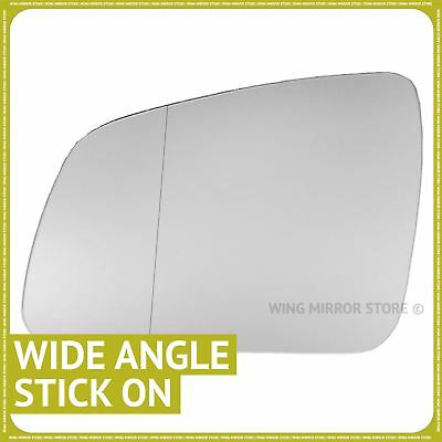 MERCEDES W204 S204 RIGHT MIRROR WING GLASS ASPHERICAL BLUE HEATED ds  ;;;