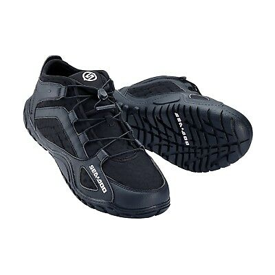 Sea-Doo Riding Shoes Neoprene Wetsuit Lace up Shoes Jet Ski Watersports Black