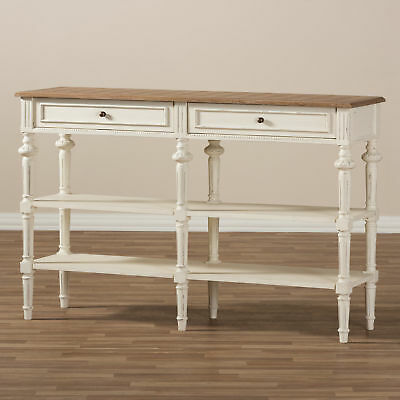 Wholesale Interiors Rogero French Provincial Console Table WHI7929