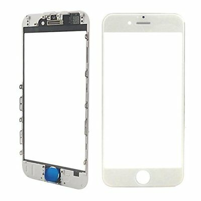 Front Outer Glass Touch Screen With Bezel Frame Earpiece Mesh For iPhone 7 Plus