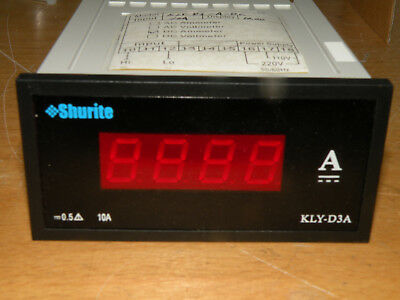 Prime Technology Shurite 10 Amp LED 4 Digit Display KLY-D3A 10A-DC-IV-R