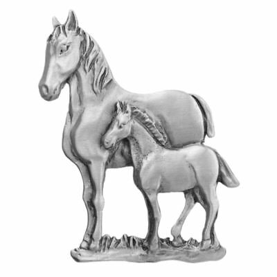 Horse & Foal Pewter Pin 6056PP