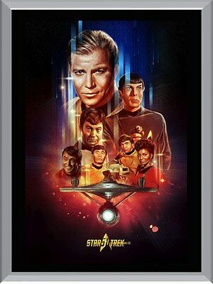 Star Trek Art Original Series A1 To A4 Size Poster Prints