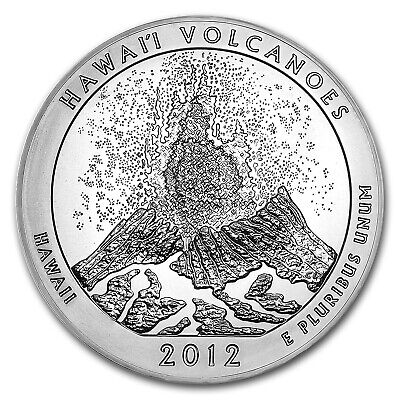 2012 5 oz Silver ATB Hawaii Volcanoes National Park, HI - SKU #68002