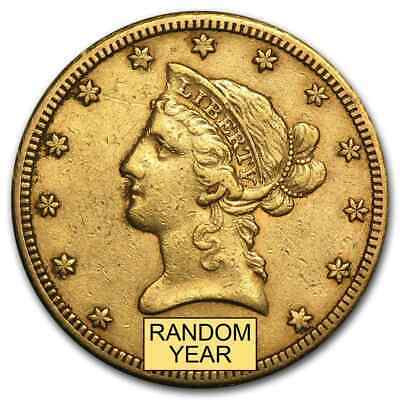 $10 Liberty Gold Eagle XF (Random Year) - SKU #118
