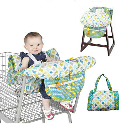 ❀ Baby Shopping Cart Cover Trolley Cushion Pad Chair Safety Comfortable Seat Mat