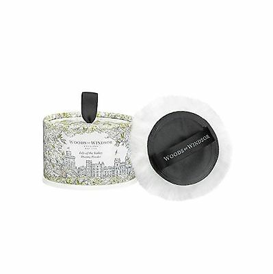 Woods of Windsor Body Dusting Powder with Puff for Women Lily of The Valley 3...
