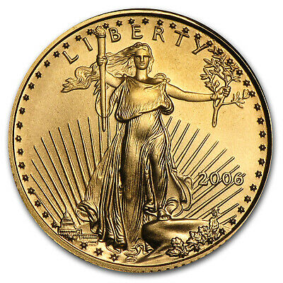 2006 1/10 oz Gold American Eagle BU - SKU #11969