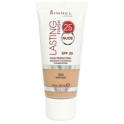 Rimmel Lasting Finish 25 Hour Skin Perfecting Foundation 303 True Nude 30 ml