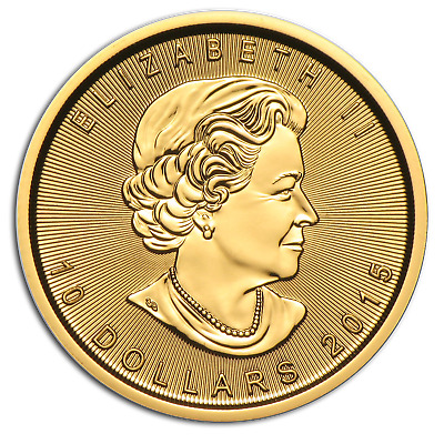 2015 Canada 1/4 oz Gold Maple Leaf BU - SKU #84892
