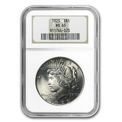 1923 Peace Dollar MS-65 NGC - SKU #4770