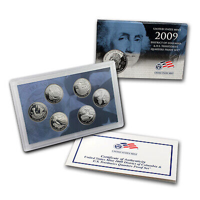 2009 D.C. and U.S. Territories Quarters Proof Set - SKU #49983