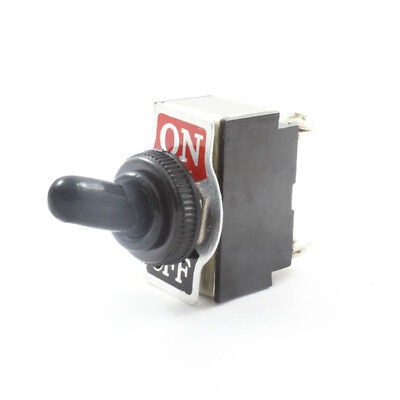 Waterproof Cover Toggle Switch ( On / Off ) Double Pole 20 AMP DPST 12v / 24v
