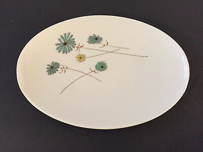 "Iroquois China LAZY DAISY - 12"" OVAL SERVING PLATTER"