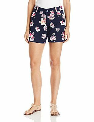 Lee Women's Midrise Fit Essential Chino Short Spring Blossom 16, New