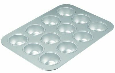 Chicago Metallic Commercial II Traditional Uncoated 12-Cup Muffin Pan, New
