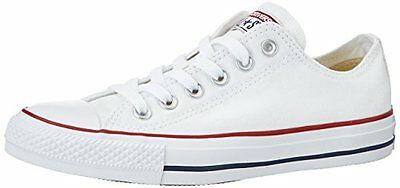 Converse Chuck Taylor All Star Lo Top Optical White 8.5, New