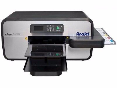 AnaJet mPower MP10i  Apparel Printer DTG Direct to Garment w/ ALL NEW PRINTHEADS